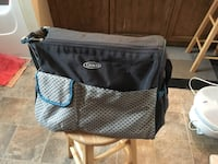 Grey/blue Graco baby bag Fort Erie, L0S