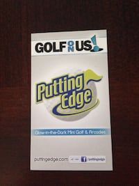 6 passes to Putting Edge Oakville (no expiry date)