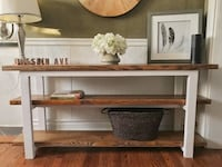 Handmade Solid Wood Console Table St. Louis, 63116