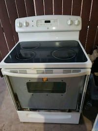 white and black induction range oven McAllen, 78504