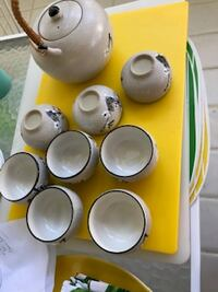 Tea set purchased in China