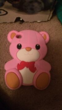 pink and white bear plush toy Belleville, K8P