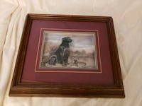3D dog and duck Made in Canada shadowbox art Toronto