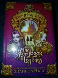 Three ever after high hard cover books