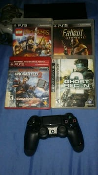 four assorted-title Sony PS3 cases Gibsonton, 33534