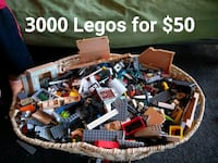 3,000 Lego blocks $40 Methuen, 01844