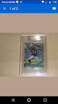 Amari Cooper Graded Rookie Card Tracy, 95376