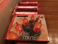 Red string lights - 100ct - New in Box Elkridge