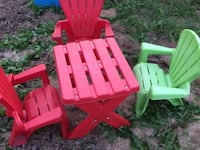 Toddler chairs & table