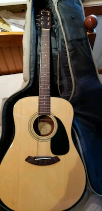Fender acoustic guitar with case Oxford, 19363