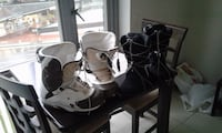 White size 9 snowboard boots in perfect shape VANCOUVER