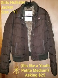 Girls Hollister Jacket - Sz L (fits like a YL) Northampton, 18067
