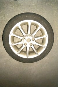 4 tires and rims on good condition  Toronto, M9N 2S6