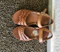Brown sandals. Toddlers size 17 Modesto, 95357