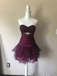 Black & Fushia short party dress Louisville, 40241