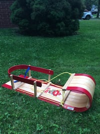 Children's Canadian made wooden sled  Burlington, L7L 1C1