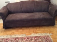 Brown  set of two sofa,good conditions,free of pets Toronto, M2R 2A3