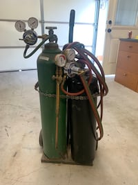 Welding tanks. MIG mixed gas. With mix valve Upland, 91784