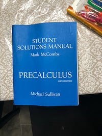 Student Solutions Manual Mark McCombs Coquitlam