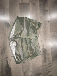 Womens Camouflage shorts