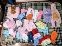 67 piece baby girl clothes Norfolk, 23503