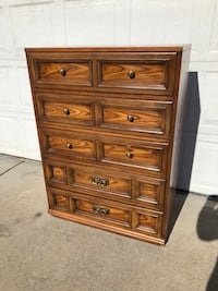 Tall 5 Drawer Dresser Vancouver, 98661