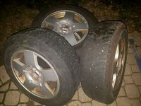Snow tires for a 2000 Jetta, plus rims  Ajax, L1T 1N7