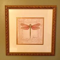 Dragonfly mini framed picture Columbia, 21046