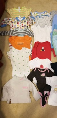 infant/ baby girl and boy clothes.bundle  Rockville