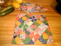 Quilt look fabric napkins Cleveland, 37323