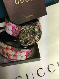 black and red Gucci belt Queens, 11412