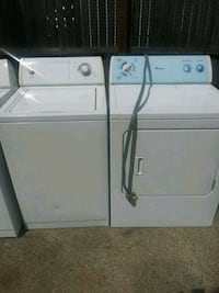 Whirlpool heavy duty washer electric dryer install Detroit, 48235