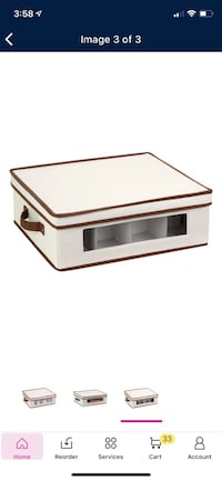 Fabric Storage Bins / Boxes for Dishes Chicago, 60606