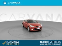 2016 *Hyundai* *Veloster* Coupe 3D coupe Red Phoenix
