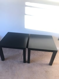 Black IKEA End Tables Andover, 01810
