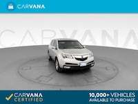 2013 Acura MDX suv Sport Utility 4D Silver Brentwood