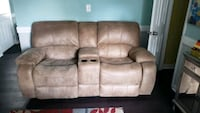 leather suede couch recliner  Norfolk, 23518