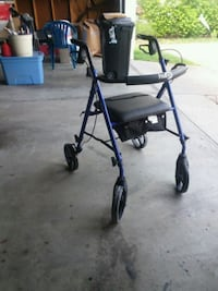black and blue rollator walker Columbus, 43207