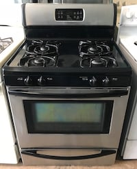 Frigidaire stainless steel gas stove 90 days warranty Reisterstown, 21136