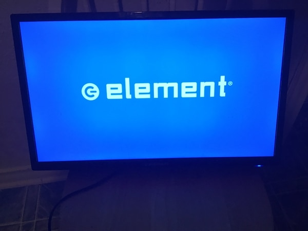 A 24-inch LCD HD TV with an LED backlight from Element, with 720p  resolution, a 60-hertz refresh rate, one HDMI input, and one component-vide  This TV