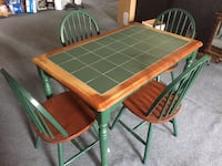 Country Dining Chairs and matching dining table Canton