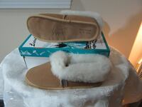 Size 9  Ladies Moccasins real leather Edmonton