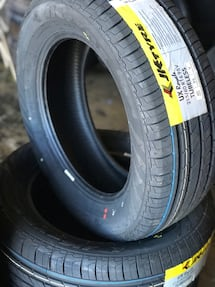 JK TYRE 215/60/16 for $55 each