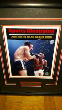 George Chuvalo signed & authenticated photo  Toronto, M1L 2T3