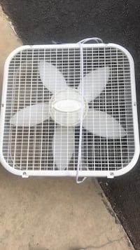 white steel box fan Rockville, 20853
