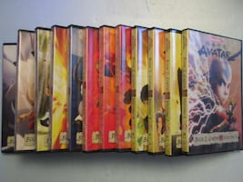 Avatar The Last Air Bender - Complete Collection DVD's