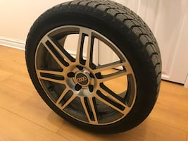 4x Winter Tires with rims 255 45 R 17