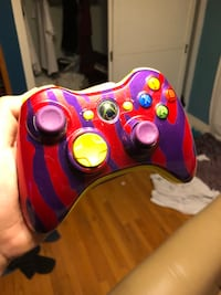 red and blue Xbox 360 controller Santa Ana, 92706