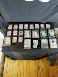 Various sata HDD all functioning  Kingston, K7K 2L1