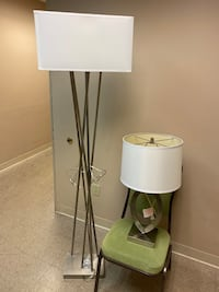 Tall lamp and end table lamps Alexandria, 22309